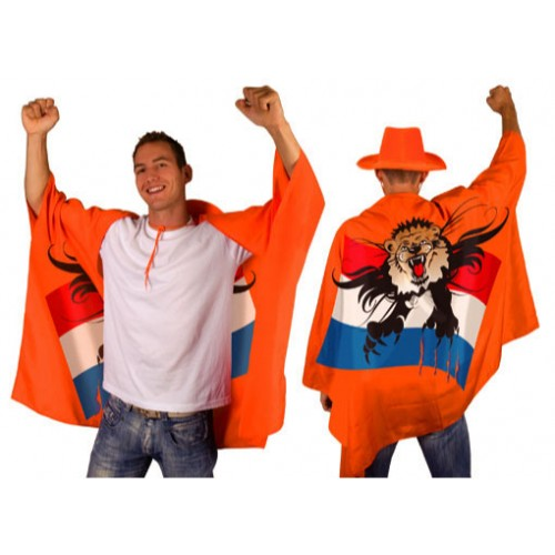 oranje fancy cape